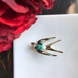 New Swallow Bird Brooch Pin Accessory